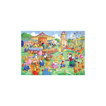 House of puzzles Funfair Games 80 piece jigsaw