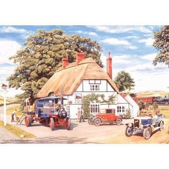 House of puzzles The Railway Inn 500 piece Jigsaw