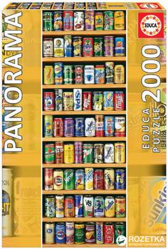 Educa Soda Soft Cans 2000 piece jigsaw