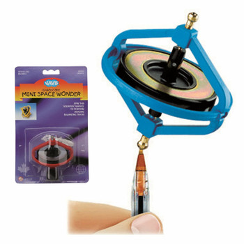 Mini Space Wonder Gyroscope ( red or Yellow )
