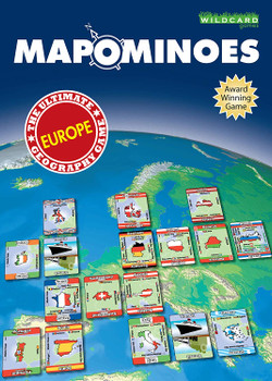 Mapominoes Europe Game