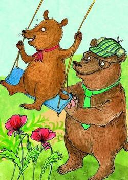 Story card Goldilocks and TheThree Bears
