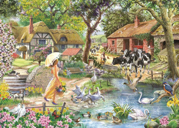 House of Puzzles 1000 piece Summer Stroll jigsaw