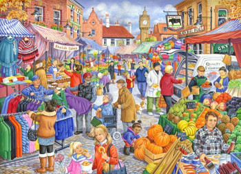 House of Puzzles 250 Big Pieces Market Day