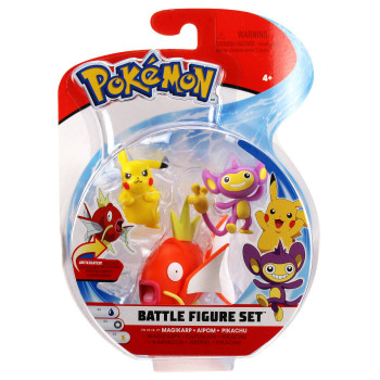 Pokemon Battle figures 3 pack
