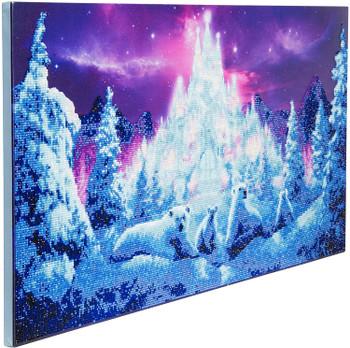 Crystal Art Canvas Ice Kingdom