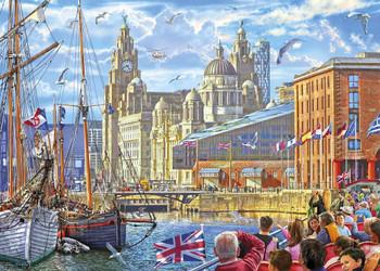 Gibson 1000 piece Albert Docks Liverpool jigsaw