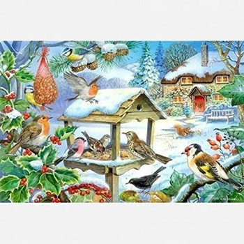 House of Puzzles 250 big pieces Feed the Birds