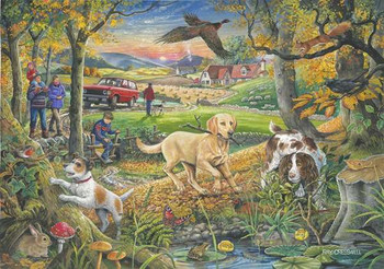 House of Puzzles 250 big pieces Evening Walk
