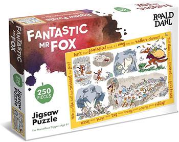 Roald Dahl Mr Fox 250 piece jigsaw