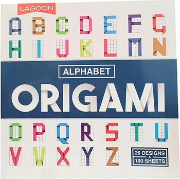 Lagoon Alphabet Origami