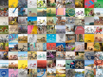 Ravensburger 99 Bicycles 1500 Piece Jigsaw Puzzle