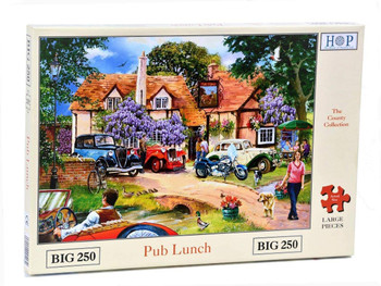 The House of Puzzles Big 250 Piece Jigsaw Puzzle – Pub Lunch