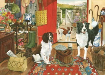 The House of Puzzles 1000 Piece Jigsaw Puzzle - Walkies