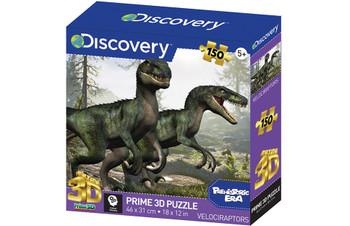 Discovery 150 piece jigsaw velociraptors