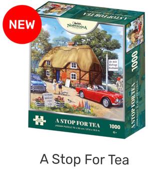 Kidicraft 500 piece jigsaw A stop for tea