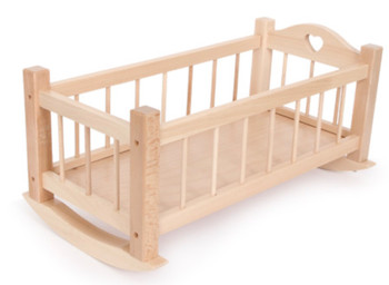 Dolls cradle wooden