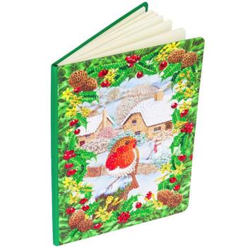 "Robin Foliage"", Crystal Art Notebook"
