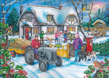 house of Puzzles Holly Cottage 1000 piece jigsaw
