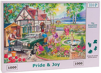 House of Puzzles Pride and joy 1000 piece jigsaw