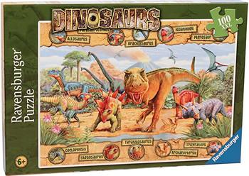 Dinosaurs 100xl pieces jigsaw