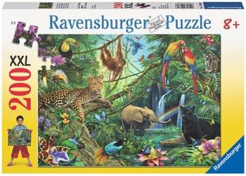 Ravensburger 200xl jigsaw animals in the jungle