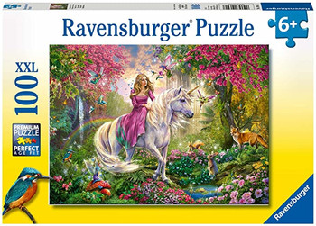 Ravensburger 100xxl piece jigsaw magical ride