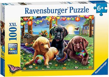 Ravensburger 100xxl jigsaw Puppy Panic