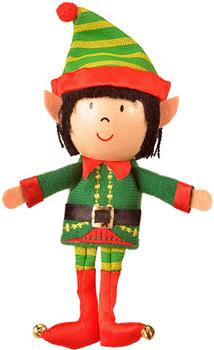 Fiesta Elf finger puppet boy