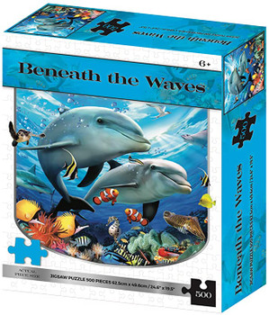 Howard Robinson Kidicraft - Beneath the waves Dolphins Jigsaw Puzzle