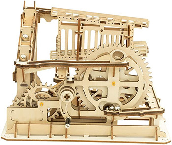 ROKR Hand Cranked Marble Run Wooden Model Kits