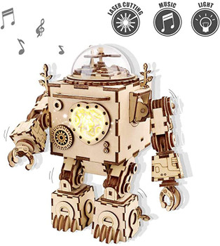 Rokr Musical Robot Model Kits to Build