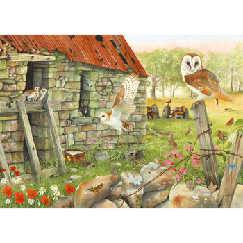 House of Puzzles dawn flight 1000 piece jigsaw