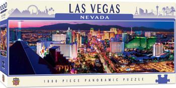Masterpieces Puzzle City Panoramic Las Vegas Puzzle 1000 pieces