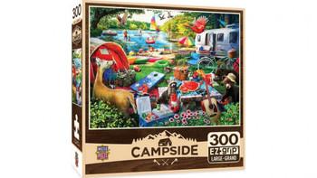 Masterpieces Puzzle Campside Little Rascals EZ Grip Puzzle 300 pieces