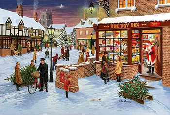 Xmas Edition No.3 Secret Santa 1000 Piece Jigsaw Puzzle