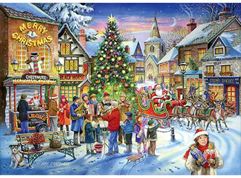House of Puzzles Christmas Shopping 1000 piece jigsaw