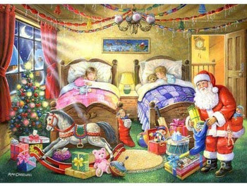 House of Puzzles 1000 piece jigsaw Christmas dreams