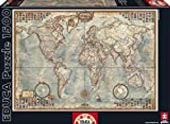 Educa 1500 jigsaw puzzle political map of the world
