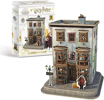 Harry Potter Diagon Alley Olivanders Wand Shop 3D Puzzle