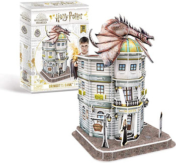 Harry Potter Gringotts Bank 3D Puzzle