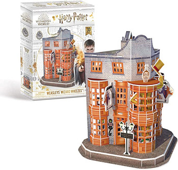 Harry Potter Diagon Alley Weasleys' Wizard Wheezes 3D Puzzle
