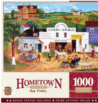 Masterpieces Puzzle Hometown Gallery Changing Times Puzzle 1000 pieces