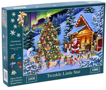House of Puzzles 1000 piece twinkle little star jigsaw