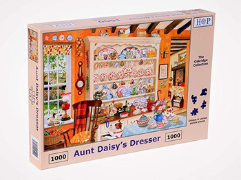 House of Puzzles 1000 piece jigsaw Aunt Daisys Dresser