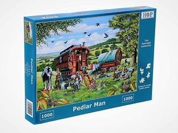 House of Puzzles 1000 piece jigsaw peddler man