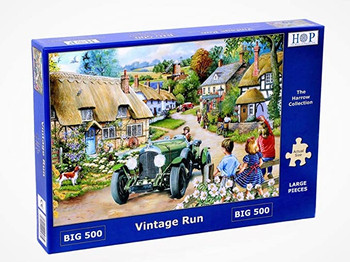 House of Puzzles big 500 jigsaw Vintage Run