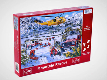 House of Puzzles 1000 piece jigsaw Mountain Rescue