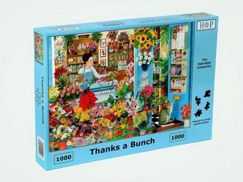 House of Puzzles 1000 piece jigsaw Thanks a bunch
