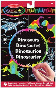 Melissa & Doug Scratch Dinosaur